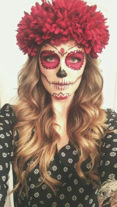 14 Maquillajes De Catrinas Que Amaras Tendencias 24